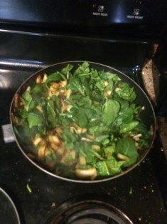 Spinach takeover!