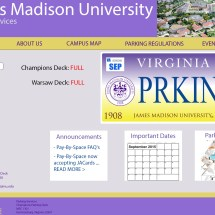 jmu-parking-home-page-mockup