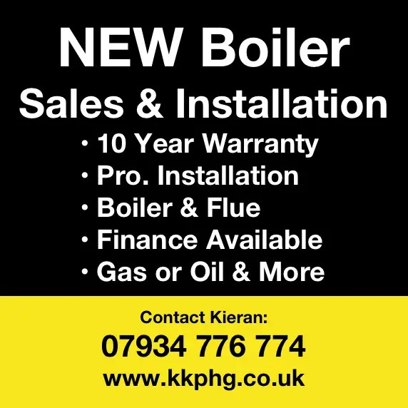 New Boilers Sales & Installations Belfast