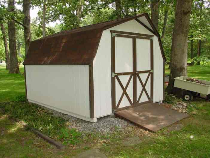 10x12 Short Wall | K&K Portable Storage Buildings Southern Illinois