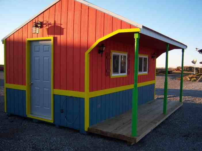 10x16 taco shop | K&K Portable Storage Buildings Southern Illinois
