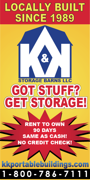 K&K Portable Storage Sheds Southern Illinois