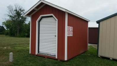 8x12 Utility with Roll Up door