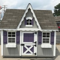 6x8 Deluxe Playhouse
