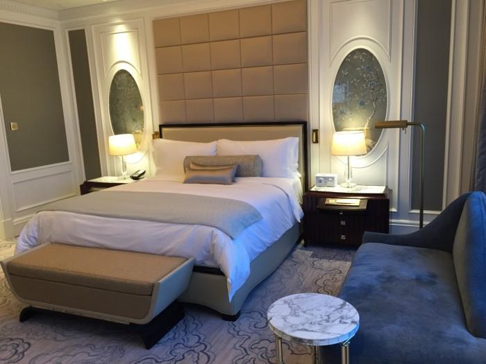 リッツカールトンマカオの寝室