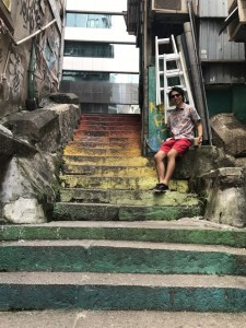 「香港旅行記2」香港で迷子、亀ゼリーを食す、夜は100万ドルの夜景