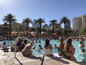 ラスベガスで楽しい事。プール、シルクドソレイユ、クラブ、ダウンタウン