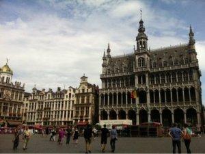 世界遺産の都市ベルギーのブリュッセル