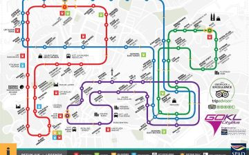 GO KL bus map