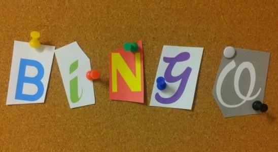 bingo rekenen getalbeelden oefenen