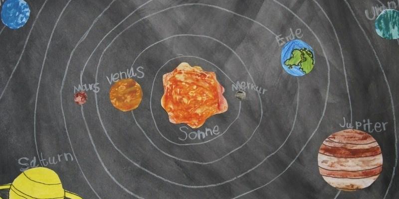 zonnestelsel planeten activiteit werkblad