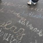 Spellingestafette, bewegend leren spellen