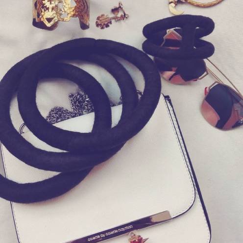 This seasons must-have accessories, includes the Afrigarde necklace and bangle