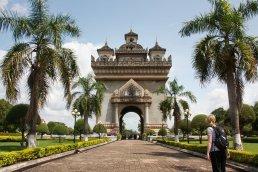 Patu Xay, Vientiane