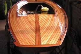 Holzboot-Restaurierung Schärenkreuzer