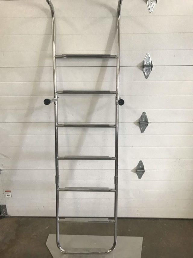 triple ladder folding