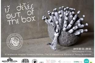 IX tarptautinė tekstilės miniatiūrų bienalė