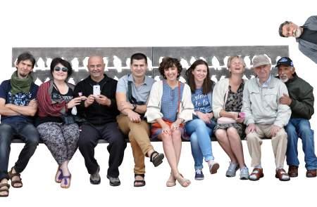 Emalio meno kūrejų simpoziumo dalyviai. 2016 m.