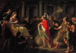 Aeneas meeting Dido