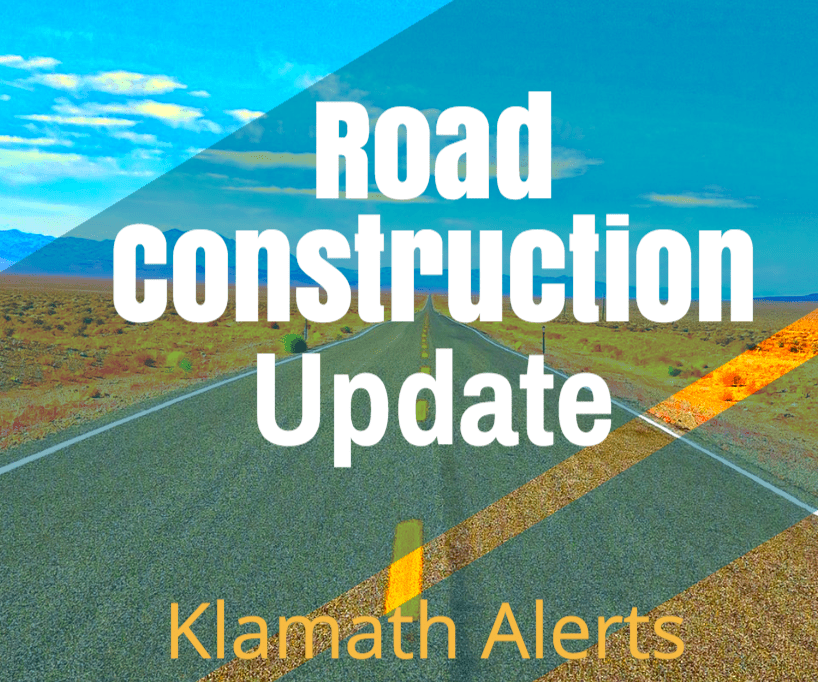 Klamath County Road Construction Updates Week of Aug 20th