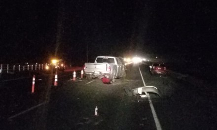 Serious injury accident on HWY 97 near Madras in construction zone