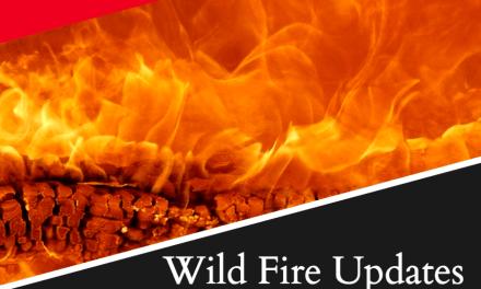 Brattain Fire (burning near Paisley) Update