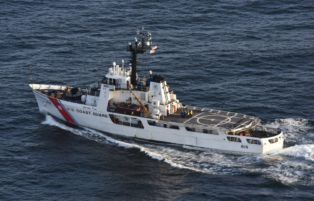 Coast Guard cutter Active returns home after 52-day patrol
