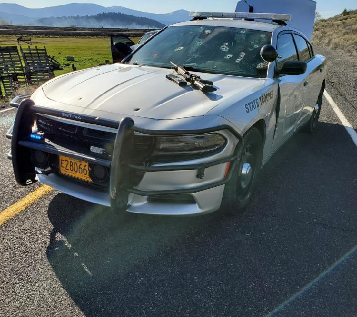 Oregon State Police Releases Photos and Video from April 10, 2020 Officer-Involved-Shooting and Praise the Heroic Efforts of all Involved – Klamath County
