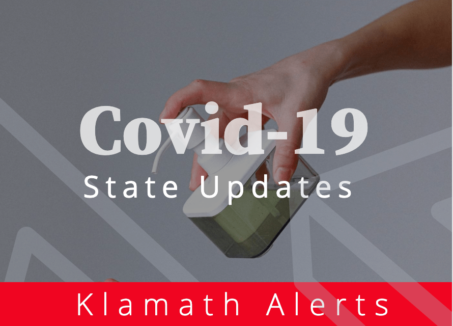 OREGON REPORTS 536 NEW CONFIRMED AND PRESUMPTIVE COVID-19 CASES, 5 NEW DEATHS