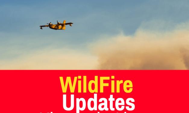 Cougar Peak Fire Update 9/16/21
