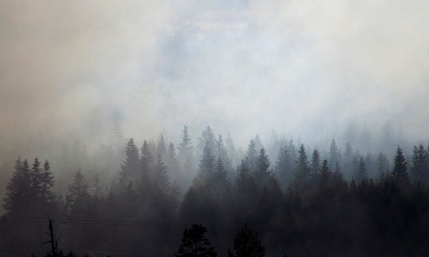 Air quality advisory for Southern Oregon, Central Oregon, south Central Oregon and southeast Oregon