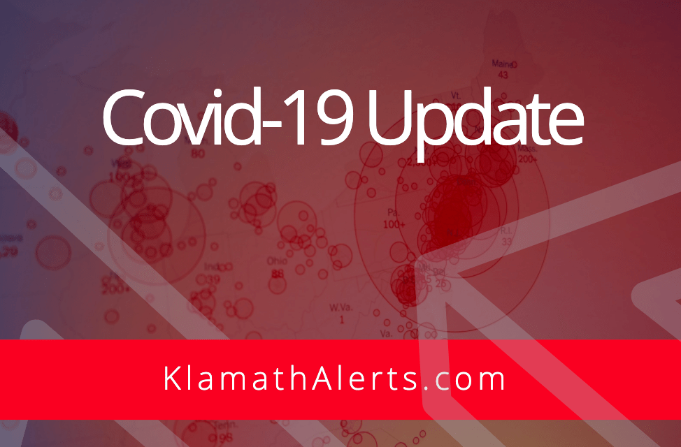 OREGON REPORTS 805 NEW CONFIRMED AND PRESUMPTIVE COVID-19 CASES, 5 NEW DEATHS