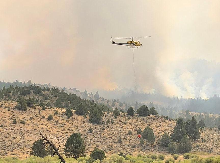 FIREFIGHTERS ASK THE PUBLIC TO KEEP PERSONAL DRONES ON THE GROUND TO ENABLE AIRCRAFT TO ENGAGE ON WILDFIRES