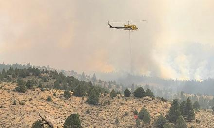 Brattain Fire (PaisleyRangerDistrict) Update – Wednesday