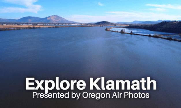 Explore Klamath: Lake Ewauna Walking Path Aerial Tour (Video)