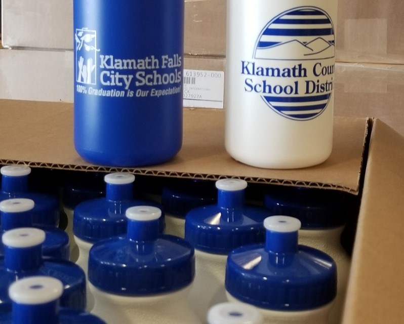 Healthy Klamath provides free water bottles to city, county students
