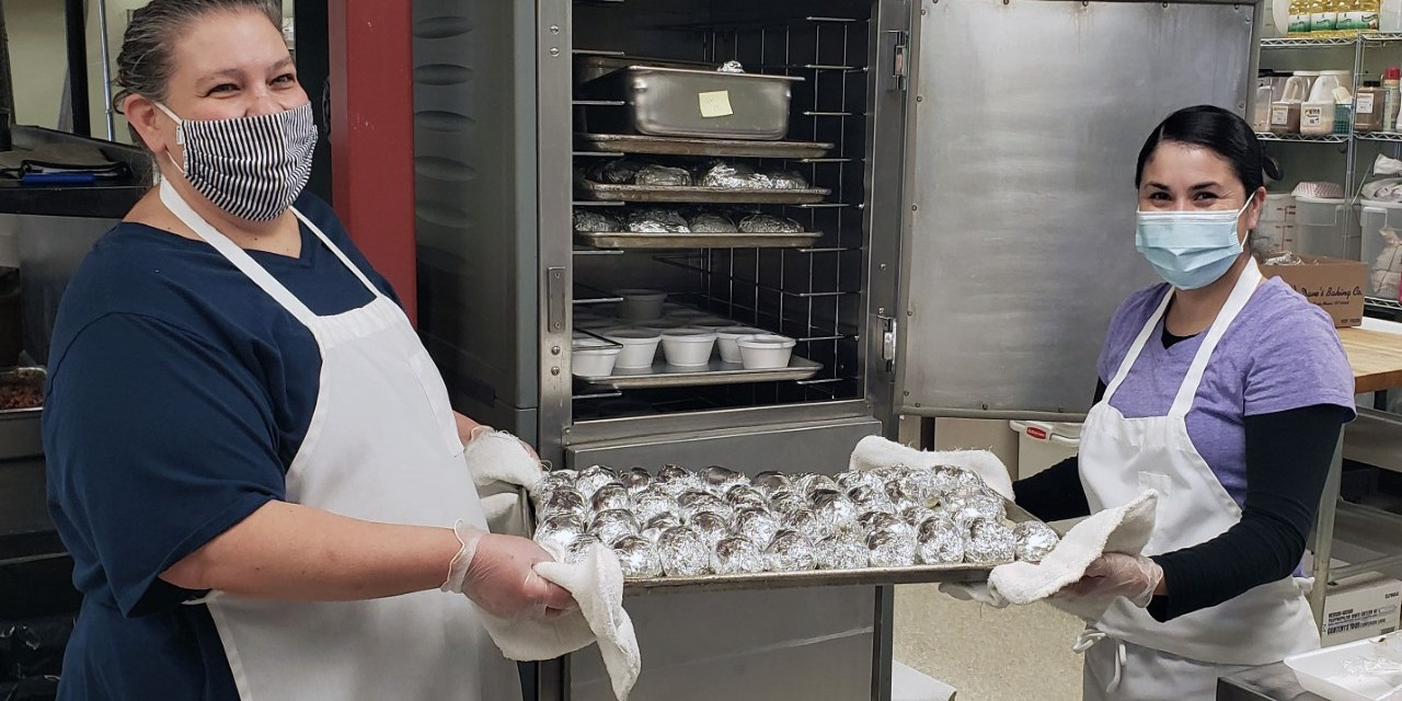 District uses local beef, potatoes for school lunches
