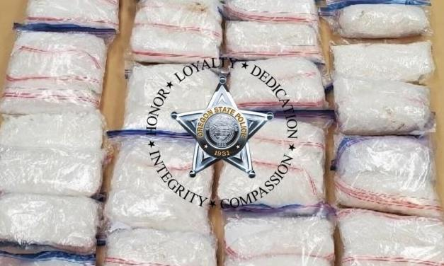 OSP Trooper discovers over 85 lbs of drugs during a traffic stop