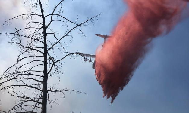 SIX NATIONAL GUARD HELICOPTERS ARE EXPECTED TO ARRIVE AT GRANDVIEW FIRE TODAY