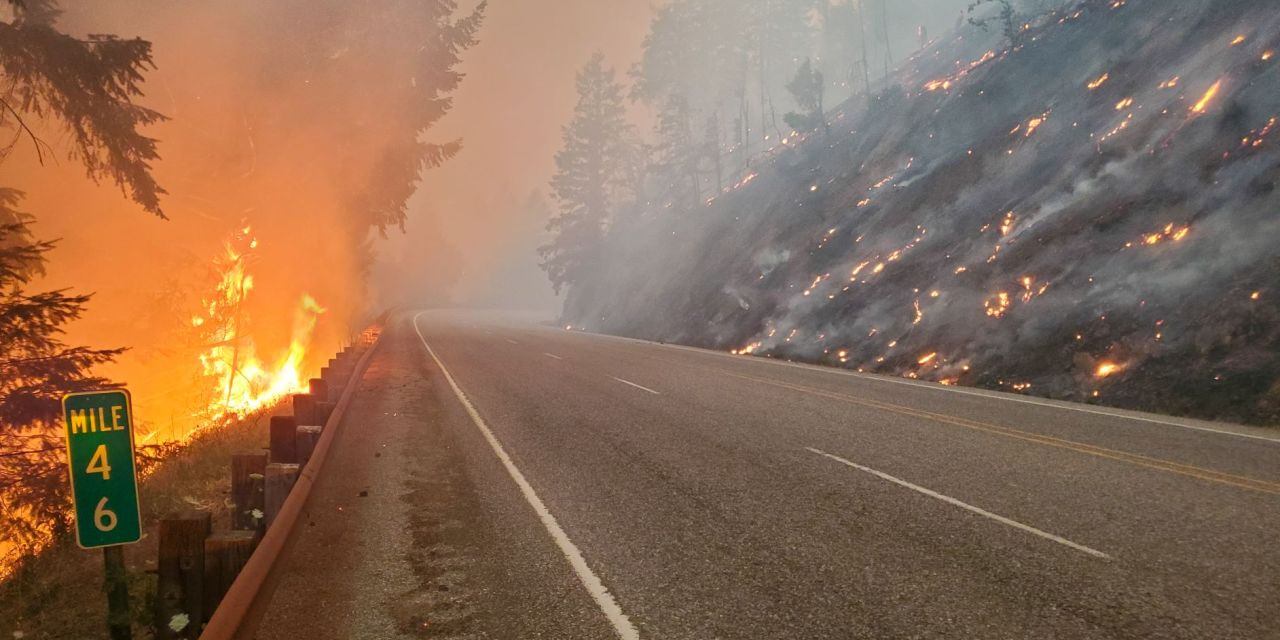 OR 138E, JACK FIRE AREA REMAINS CLOSED THROUGH WEEKEND