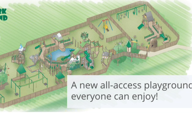 Moore Park ADA-Accessible Playground Receives $38,000 in Equipment Sponsorships from Sky Lakes Medical Center and Klamath Basin Behavioral Health