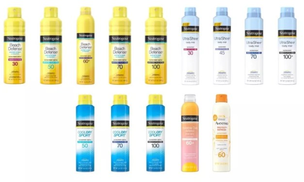 Johnson & Johnson Consumer Inc. Issues Voluntary Recall of Specific NEUTROGENA® and AVEENO® Aerosol Sunscreen Products Due to the Presence of Benzene