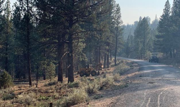 Cougar Peak Fire Update 9/15/21