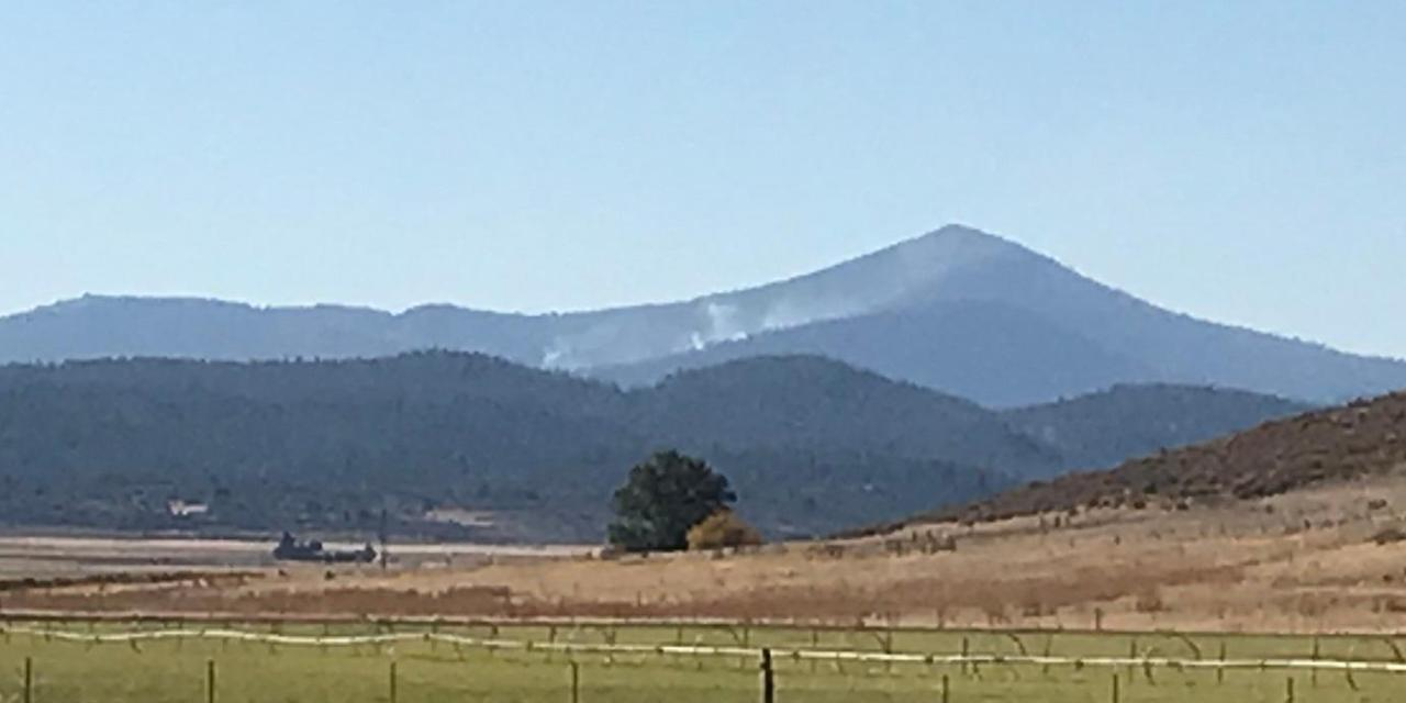 Cougar Peak Fire Update- September 28, 2021