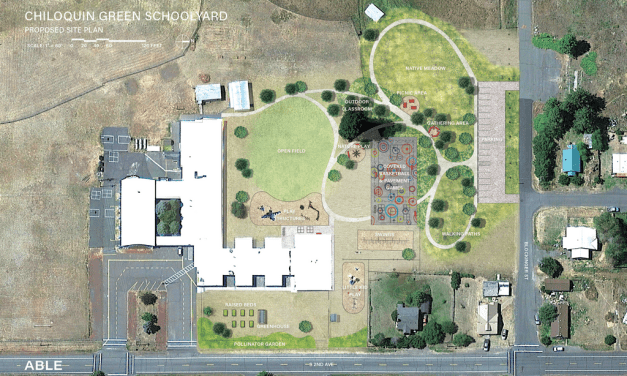 Chiloquin Green Schoolyard project ready to break ground