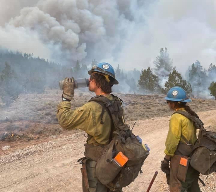 Cougar Peak Evening Fire Update 9/10/21