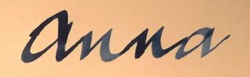 klama torby anna bucket bag initials1