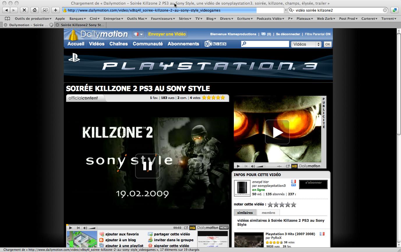 www.dailymotion.com/user/playstation3