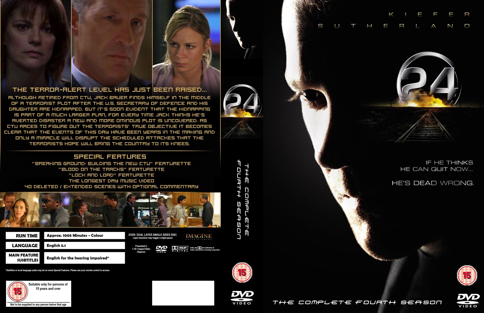 24 season 4 dvd cover spread kelvin lam creative media portfolio. Black Bedroom Furniture Sets. Home Design Ideas
