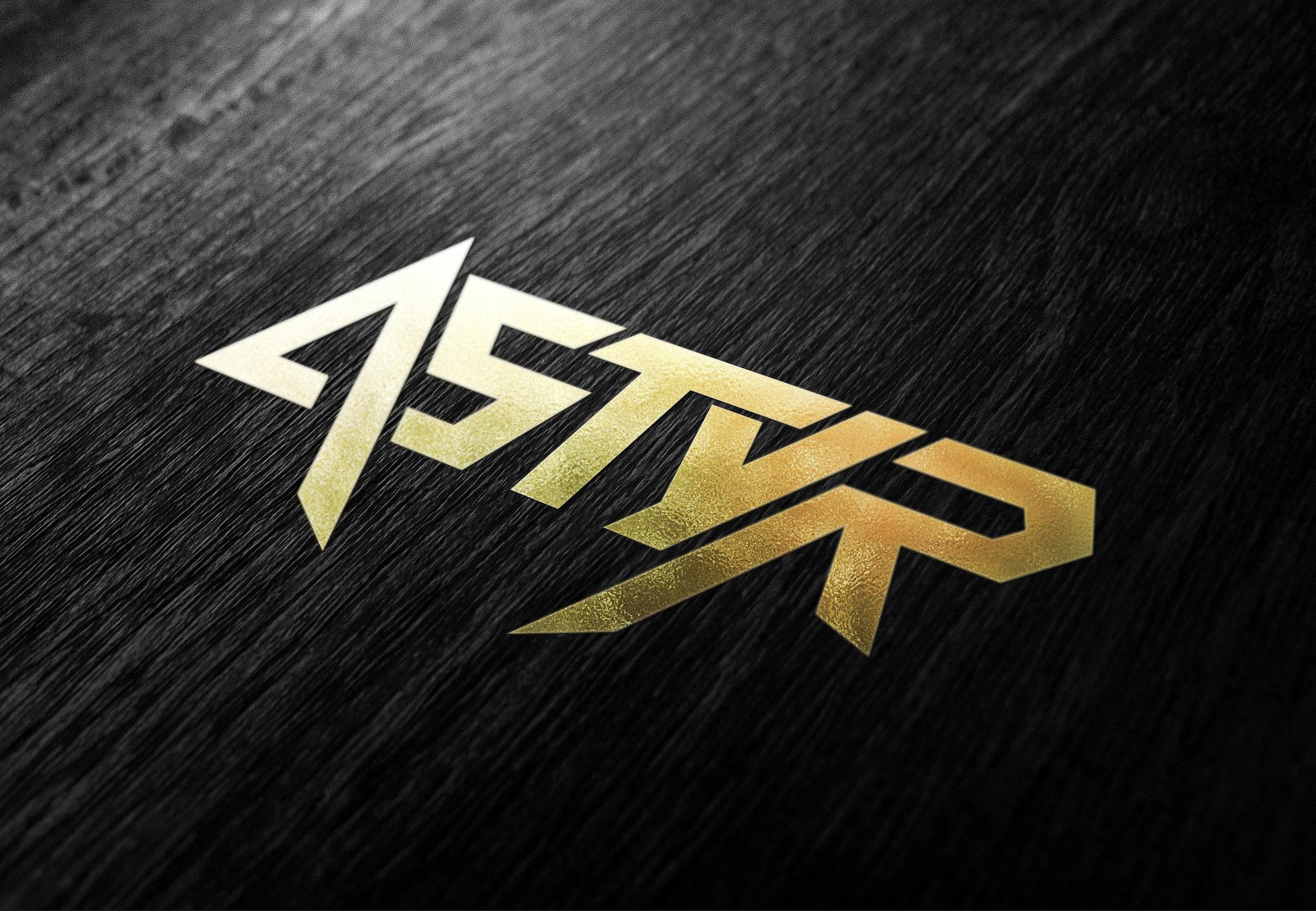Astyr Logo Design DJ EDM Music